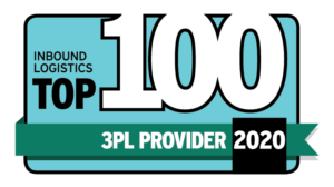 Inbound Logistics Top 100 3PL (third party logistics provider) 2020